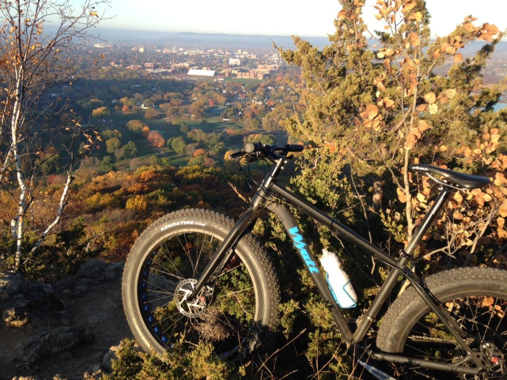 My First Experience Trail Riding on a Fat Bike [Guest Post]