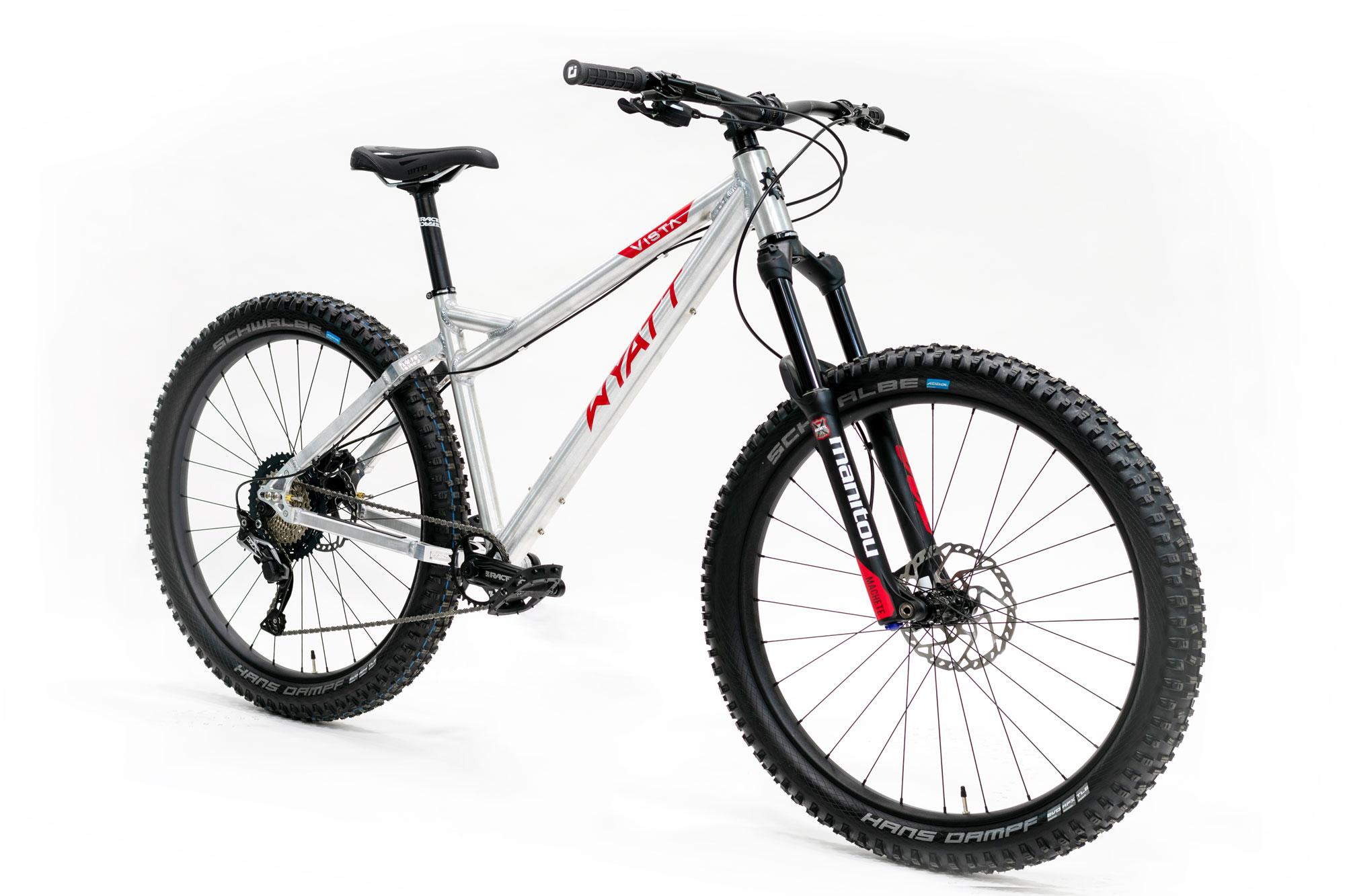 American-made mountain bike